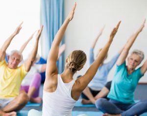 Yoga op maandag (voor een keer op dinsdag)